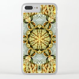 Animal Print Abstract 5 Clear iPhone Case
