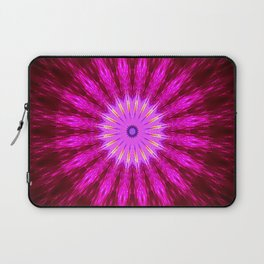 Undefined Circle in Oil Laptop Sleeve