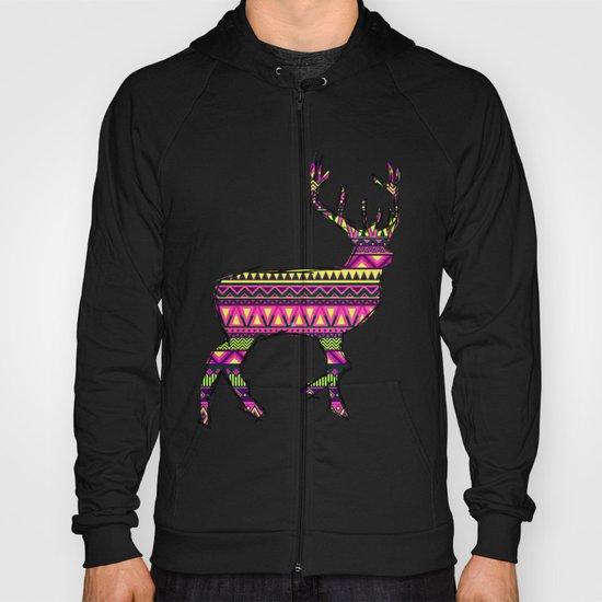 Deer Navajos pattern Hoody
