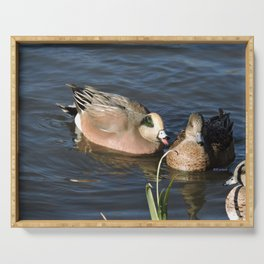 American Wigeons Serving Tray