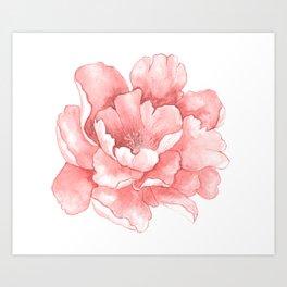 Beautiful Flower Art 21 Art Print