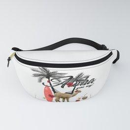 Aloha llama say alpaca my bag Fanny Pack