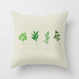 Scarborough Fair Throw Pillow