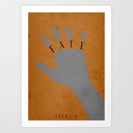 Lost Tv Show - FATE - Charlie Pace Art Print