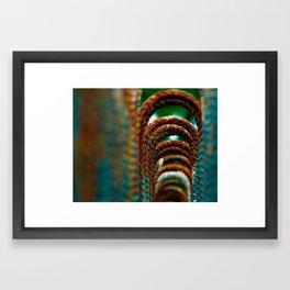 Rebar Framed Art Print
