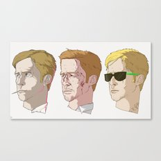 Gosling Trio Canvas Print