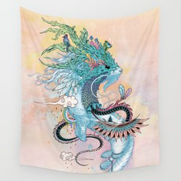 Journeying Spirit (ermine) Wall Tapestry