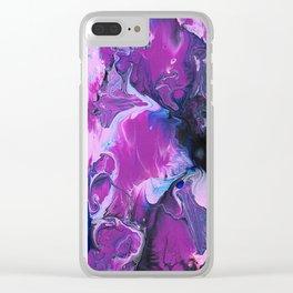 Mystic Purple Clear iPhone Case