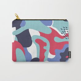 Camo Art Abstract Design Carry-All Pouch