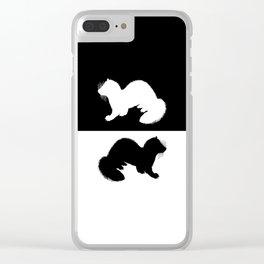 European Polecat Clear iPhone Case