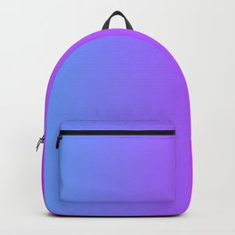 Blue And Pink Gradient Pattern Backpack