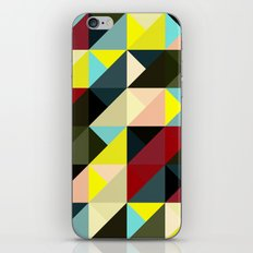 Diagonal triangle pattern iPhone & iPod Skin