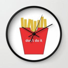 Magic Fries Wall Clock