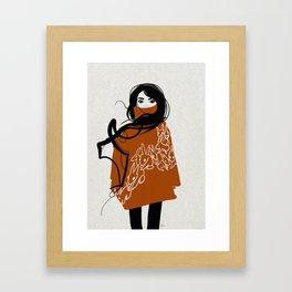 Rabbits.  Framed Art Print
