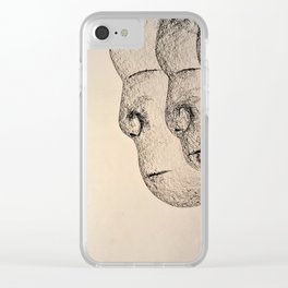 Triplet Clear iPhone Case