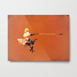 The Yellow Flash Metal Print