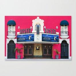 La La Land at the Vista Canvas Print