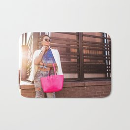 Meatpacking and Fashion Bath Mat