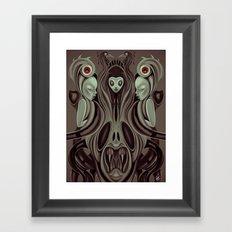 The Hell's Gate Framed Art Print