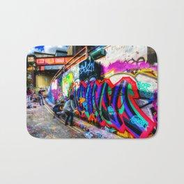 Leake Street Graffiti Artists Bath Mat