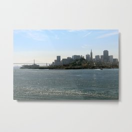 Downtown San Francisco from the Bay Metal Print