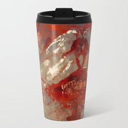 Albino Werewolf concept art illustration Travel Mug