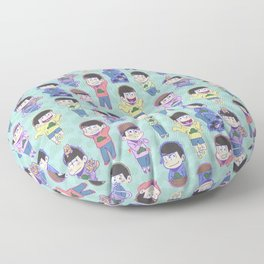 The Sextuplets Floor Pillow