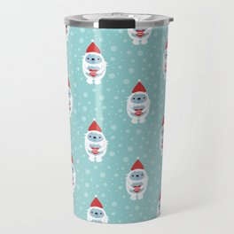 Merry Christmas Yeti Travel Mug