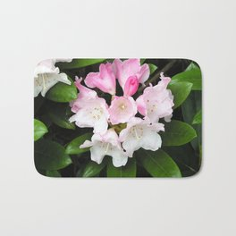 Pink Rhododendron in Spring Bath Mat
