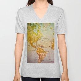Colorful World Unisex V-Neck