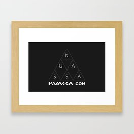 kuassa trigo Framed Art Print