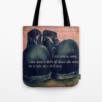 chaplin Tote Bags featuring CHAPLIN by Ginevra