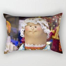Russian toy Rectangular Pillow