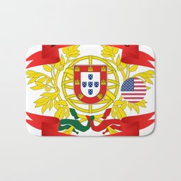 Portuguese American Bath Mat