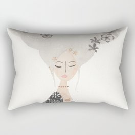 HAIR IN THE CLOUDS Rectangular Pillow