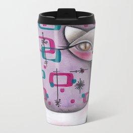 Janice Cat Metal Travel Mug