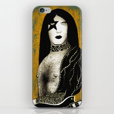 Poster The Great Paul Stanley iPhone & iPod Skin