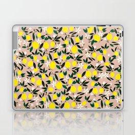 Juicy Lemons Pink Laptop & iPad Skin
