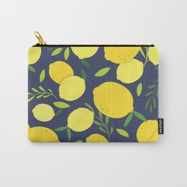 Freshly Picked Lemon Carry-All Pouch