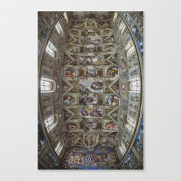 Sistine Chapel  Canvas Print