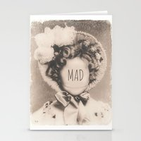 mad Stationery Cards featuring MAD by Oddworld Art
