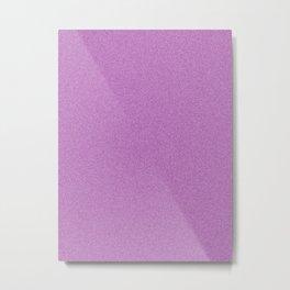 Dense Melange - White and Purple Violet Metal Print