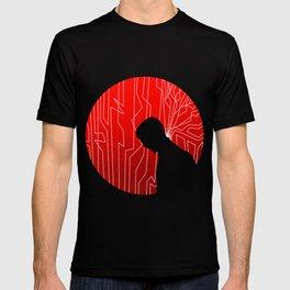 Upgrade Movie Silhouette T-shirt