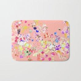 Soft bunnies pink Bath Mat