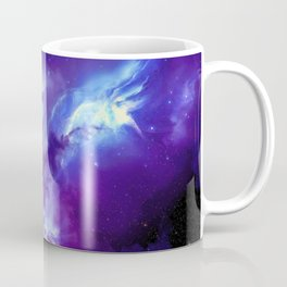 Magnificent Cosmic Nebulae Star Birth Violet Tint Ultra High Resolution Coffee Mug