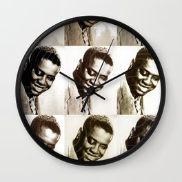 Jazz Heroes Series - Art Tatum Wall Clock