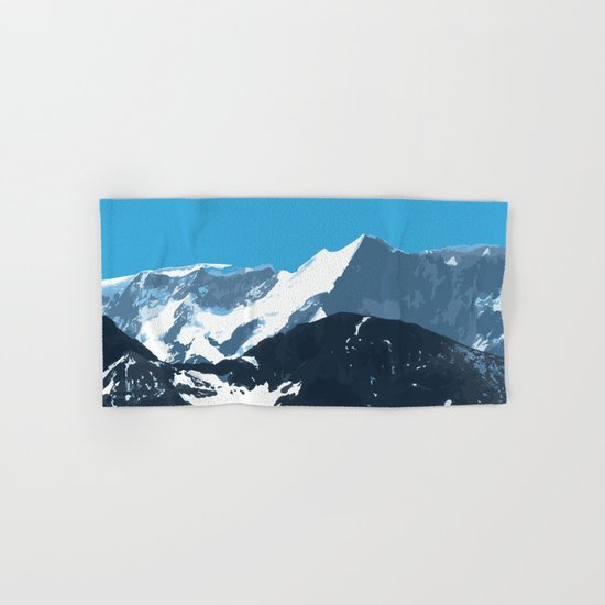 swiss mountains Hand & Bath Towel