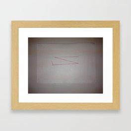 Recorded Cognition (1/44) Framed Art Print