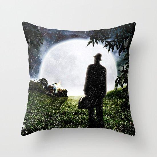 The Little Observer Throw Pillow