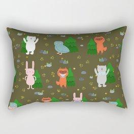 Cute animals Rectangular Pillow